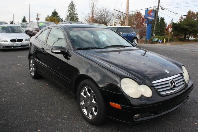 2002 mercedes benz c class c230 kompressor 2dr hatchback in stanwood wa automobile inc 2002 mercedes benz c class c230