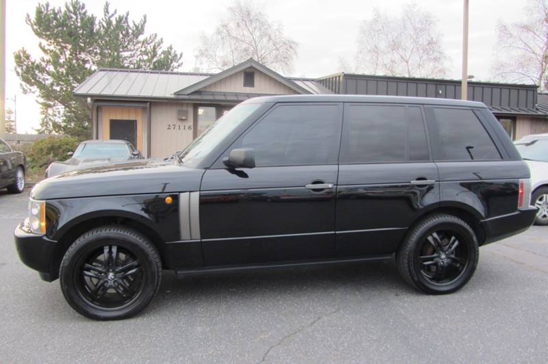 2004 Land Rover Range Rover Hse 4wd 4dr Suv In Stanwood Wa