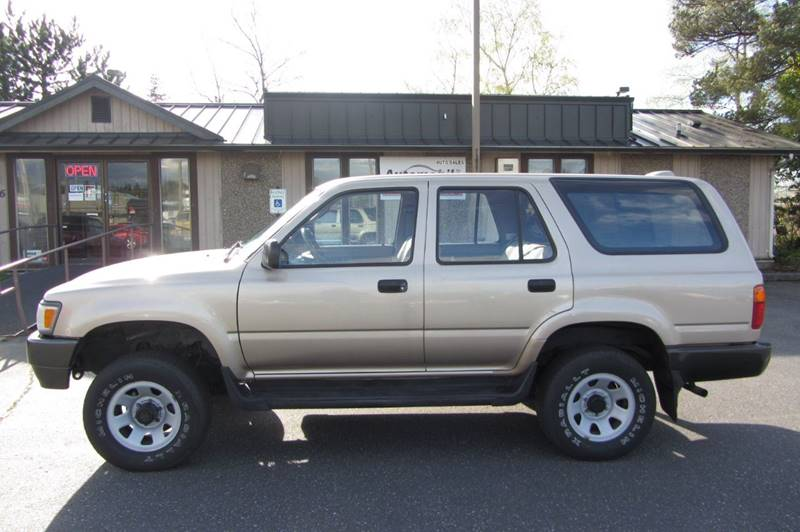 1995 toyota 4runner 4dr sr5 4wd suv in stanwood wa automobile inc 1995 toyota 4runner 4dr sr5 4wd suv in