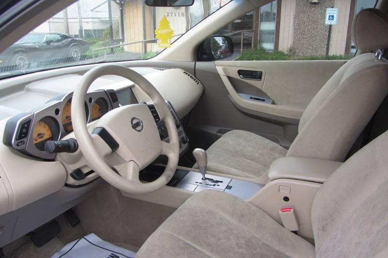2005 Nissan Murano S 4dr SUV - Stanwood WA