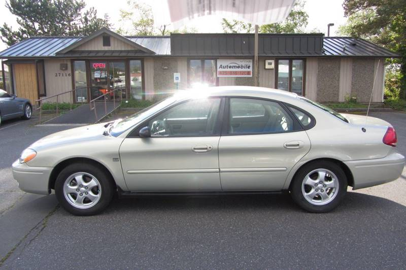 2004 ford taurus ses 4dr sedan w duratec in stanwood wa. Black Bedroom Furniture Sets. Home Design Ideas