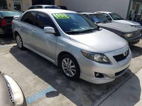 2009 Toyota Corolla for sale in Cape Coral, FL