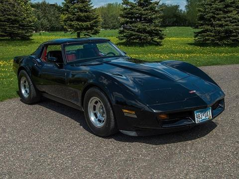 1982 Chevrolet Corvette for sale in Rogers, MN