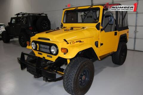 1970 Toyota Land Cruiser for sale at Ellingson Motorcars in Rogers MN