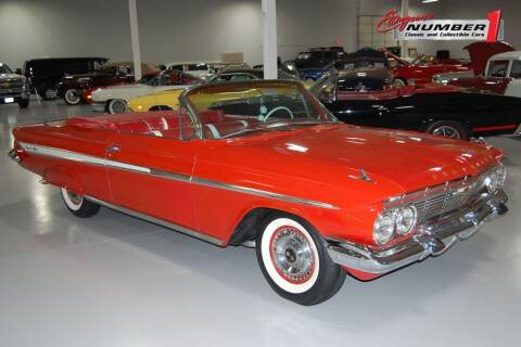1961 Chevrolet Impala for sale at Ellingson Motorcars in Rogers MN