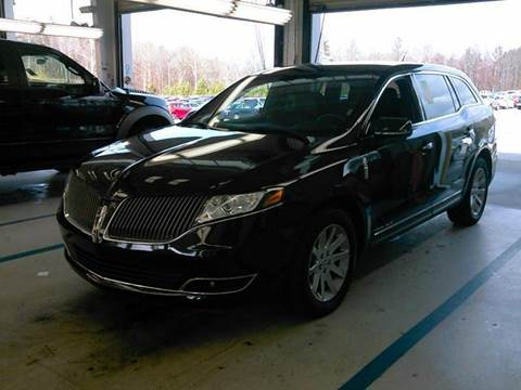 2015 Lincoln MKT Town Car for sale at Shah Jee Motors in Woodside NY