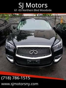 2018 Infiniti QX60 for sale at Shah Jee Motors in Woodside NY
