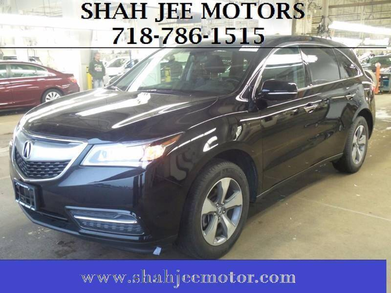 2015 Acura MDX for sale at Shah Jee Motors in Woodside NY