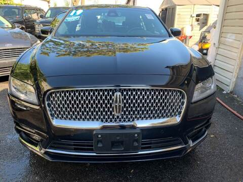 2019 Lincoln Continental for sale at Shah Jee Motors in Woodside NY
