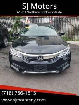 2017 Honda Accord for sale at Shah Jee Motors in Woodside NY