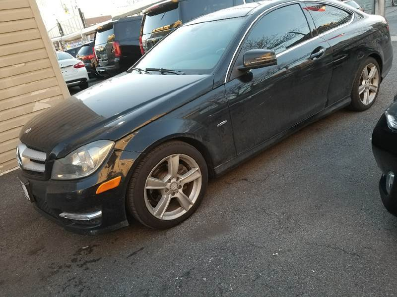 2012 Mercedes-Benz C-Class for sale at Shah Jee Motors in Woodside NY