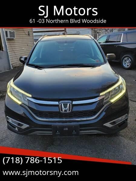 2016 Honda CR-V for sale at Shah Jee Motors in Woodside NY