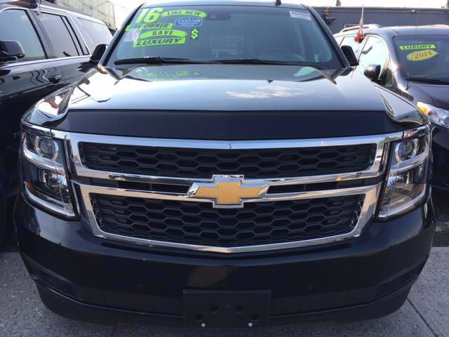 2016 Chevrolet Suburban for sale at Shah Jee Motors in Woodside NY