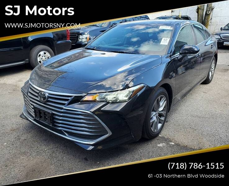 2019 Toyota Avalon for sale at Shah Jee Motors in Woodside NY