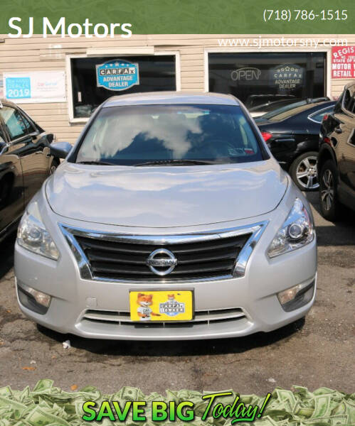 2015 Nissan Altima for sale at Shah Jee Motors in Woodside NY