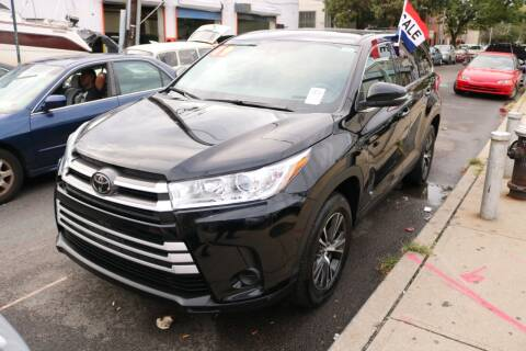 2019 Toyota Highlander for sale at Shah Jee Motors in Woodside NY