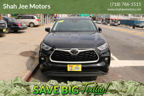 2020 Toyota Highlander for sale at Shah Jee Motors in Woodside NY