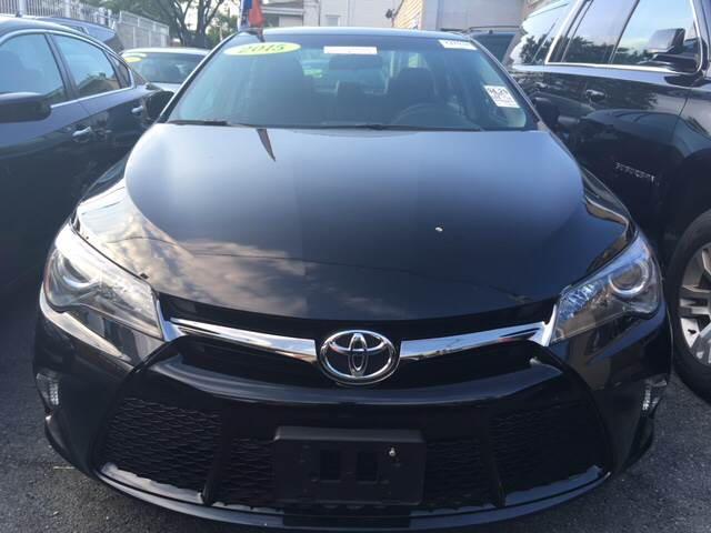 2015 Toyota Camry for sale at Shah Jee Motors in Woodside NY
