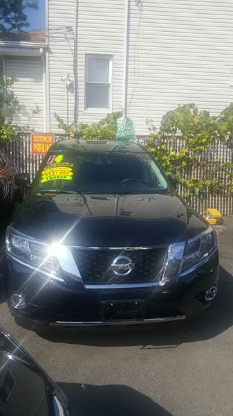 2014 Nissan Pathfinder for sale at Shah Jee Motors in Woodside NY