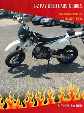 2014 Suzuki 400SM DR-Z Dirtbike for sale in Muskogee, OK