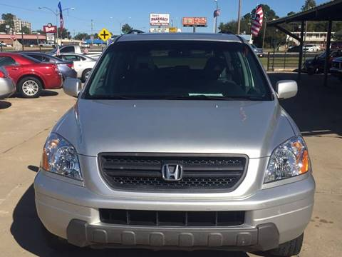 2005 Honda Pilot for sale at E-Z Pay Used Cars - E-Z Pay Cars & Bikes in McAlester OK