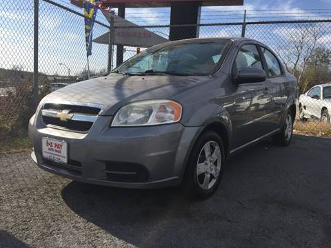 2010 Chevrolet Aveo for sale at E-Z Pay Used Cars in McAlester OK
