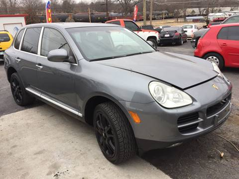 2004 Porsche Cayenne for sale at E-Z Pay Used Cars in McAlester OK