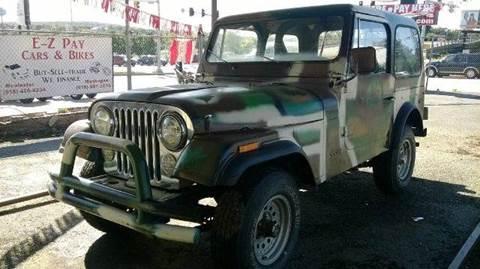 1977 Jeep CJ-7 for sale in Muskogee, OK