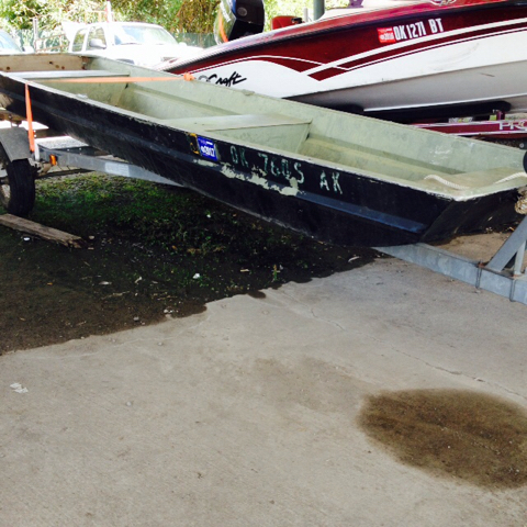 1970 OTAS/k flat bottom boat  - McAlester OK