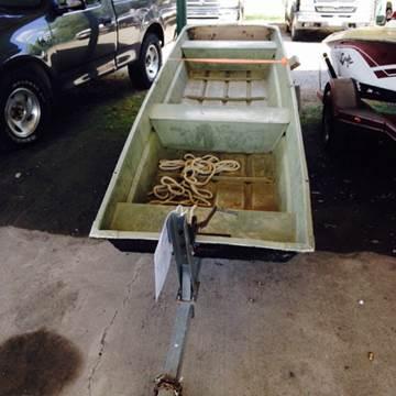 1970 OTAS/k flat bottom boat