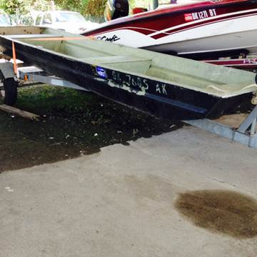 1970 OTAS/k flat bottom boat