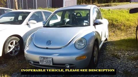 2001 Volkswagen New Beetle for sale in Mcalester, OK
