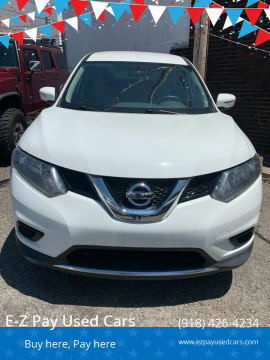 2015 Nissan Rogue S for sale at E-Z Pay Used Cars in McAlester OK