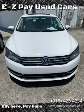 2012 Volkswagen Passat TDI SE for sale at E-Z Pay Used Cars in McAlester OK