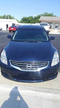 2012 Nissan Altima for sale at E-Z Pay Used Cars - E-Z Pay Cars & Bikes in McAlester OK
