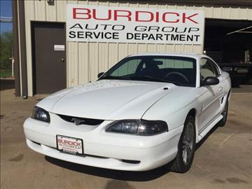 1998 Ford Mustang for sale in Wichita Falls, TX