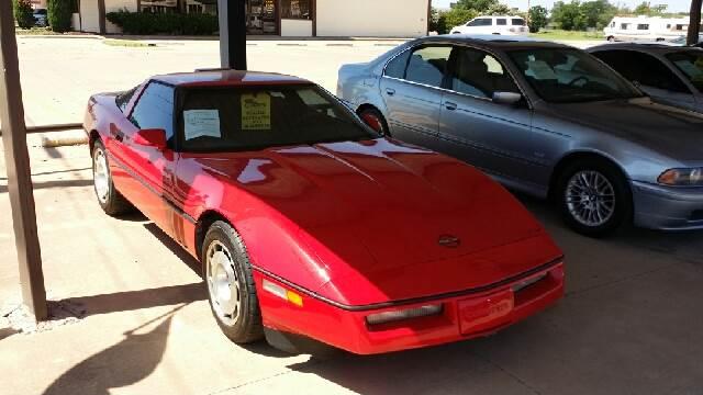 1986 Chevrolet Corvette Base 2dr Hatchback - Wichita Falls TX