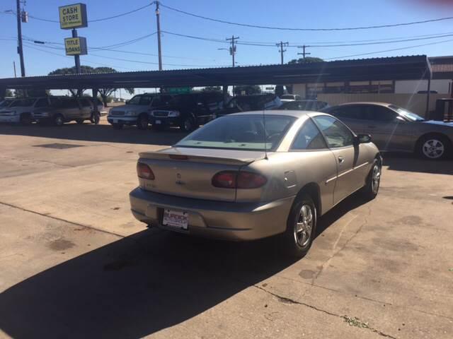 2001 Chevrolet Cavalier 2dr Coupe - Wichita Falls TX