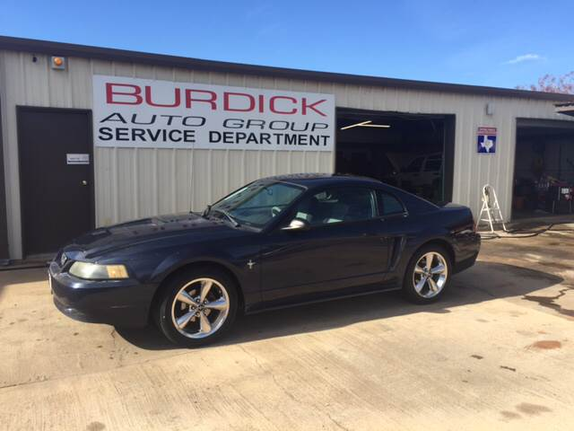 2001 Ford Mustang 2dr Coupe - Wichita Falls TX