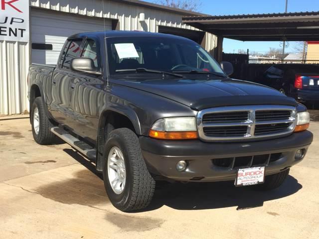 2004 Dodge Dakota 4dr Quad Cab Sport 4WD SB - Wichita Falls TX