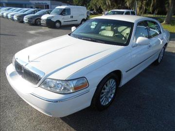 2004 Lincoln Town Car for sale in Live Oak, FL