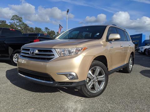 2011 Toyota Highlander for sale in Live Oak, FL