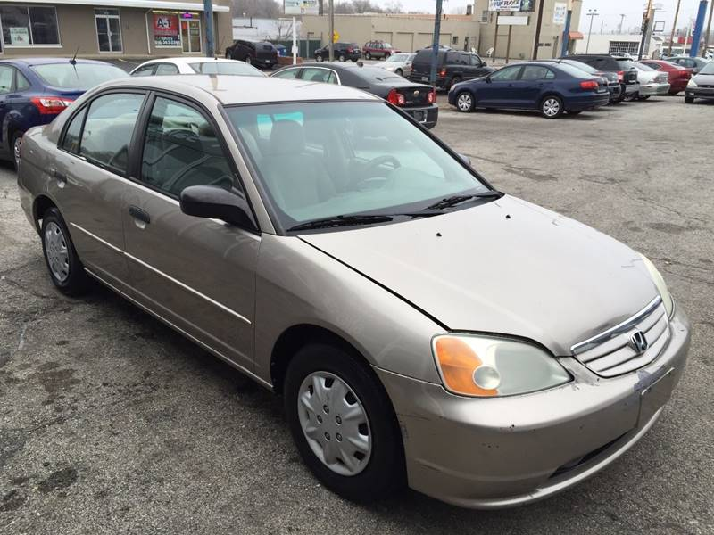 2001 Honda Civic LX 4dr Sedan - Kansas City MO