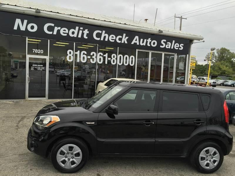 2013 kia soul 4dr wagon 6m in kansas city mo no credit check auto sales. Black Bedroom Furniture Sets. Home Design Ideas