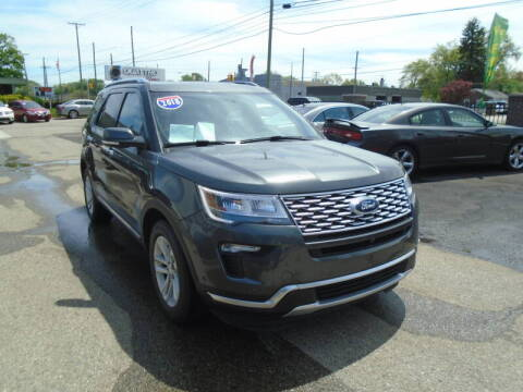 2018 Ford Explorer for sale at Quattro Motors 2 - 1 in Redford MI