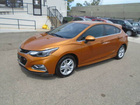 2017 Chevrolet Cruze for sale at Quattro Motors 2 - 1 in Redford MI