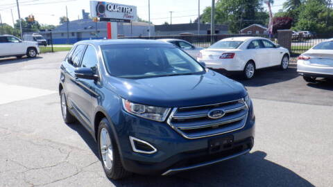 2016 Ford Edge for sale at Quattro Motors 2 - 1 in Redford MI