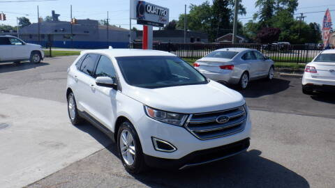 2015 Ford Edge for sale at Quattro Motors 2 in Farmington Hills MI
