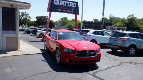 2014 Dodge Charger for sale at Quattro Motors 2 in Farmington Hills MI