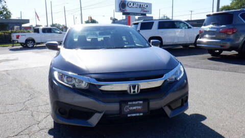 2017 Honda Civic for sale at Quattro Motors 2 - 1 in Redford MI